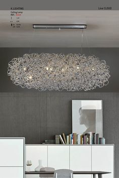 Line Cloud - Celling Lamp by K-Lighting
