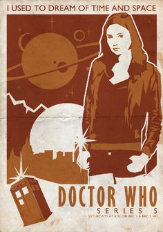 Doctor Who #Poster 2 by ~ameba2k on deviantART #doctorwho #amypond