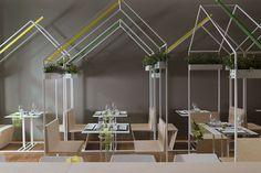 Modular Sushi Fusion Eateries - CasaMaki Sushi Merges Japanese Cuisine With Italian Design (GALLERY)