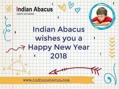 Indian Abacus wishes you a Happy New Year 2018 indianabacus.com