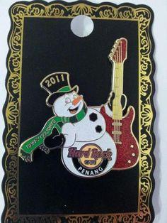 Hard Rock Cafe Penang Christmas Pin – RM45