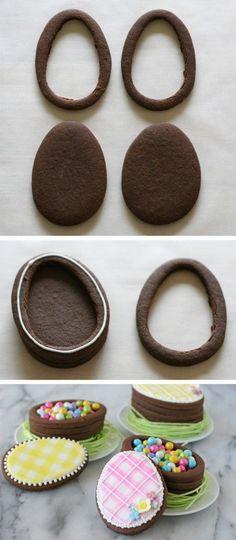 Biscotti di Pasqua con sorpresa