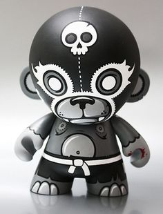 """Munny Madness - Munny is a """"Do It Yourself"""" vinyl toy from Kid Robot"""