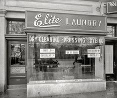 Elite laundry, 1924