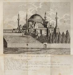 Hagia Sophia Mosque, Istanbul, 17th Century (Ayasofya Camii)
