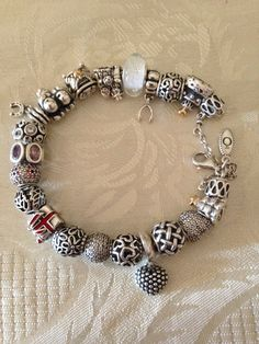 Véritable Bracelet Pandora Argent Very Cute Charms Available At Www Bijoux Et