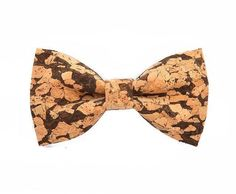 4dae6d47daff Handmade Cork Wooden Bow Ties For Men Cork Wood, Bow Tie Wedding, Wooden Bow