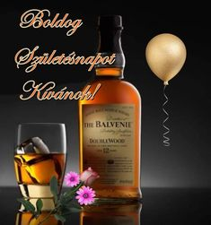 Name Day, Whiskey Bottle, Happy Birthday, Alcohol, Drinks, Happy Brithday, Rubbing Alcohol, Drinking, Beverages
