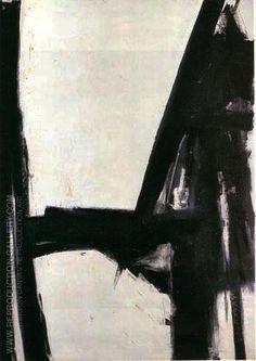 Franz Kline - Artiste peintre abstrait - Noir et blanc Franz Kline, Tachisme, Action Painting, Painting Lessons, Painting Art, Willem De Kooning, Henri Matisse, Art Blanc, Modern Art