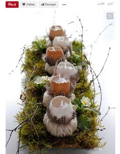 Des œufs-bougies : 16 idées pour décorer sa table de Pâques - Journal des Femmes