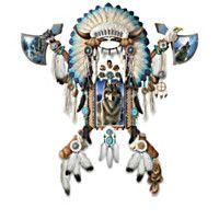 904084 - Valiant Spirit Native American-Inspired Wall Deco…