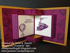Stampin' All Night: RemARKable Stampers Blog Tour: Going Places