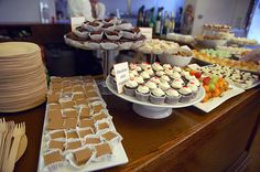 Great ideas for catering a dessert bar for any celebration. by Food Librarian, via Flickr