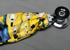 Minions Stethoscope Cover Stethoscope Accessories, Stethoscope Cover, Doctor Gifts, Nurse Gifts, Boombox, Fabric Covered, Mother Gifts, Homemade Gifts, Minions