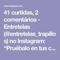 """41 curtidas, 2 comentários - Entretelas (@entretelas_trapillos) no Instagram: """"Pruébalo en tus cestas con trapillo #repost #trapillo #trapilloxxl#trapillos #trapillochile…"""""""