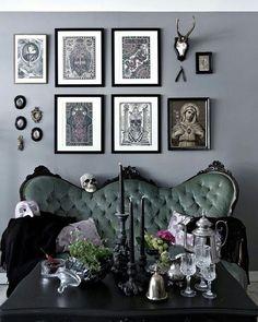 Comfy Gothic Sofa Chairs Design Ideas For Anyroom Home Decor
