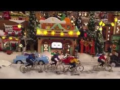Christmas in the City - Miniature Extreme Christmas Village - YouTube