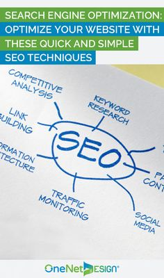 Have you just launched your online business and need some great ideas to boost traffic to your website? Search Engine Optimization or SEO can be a valuable tool to attract targeted visitors to your website and provide better visibility to your online branding efforts.
