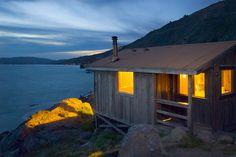 Steep Ravine Cabins (#4), Mt. Tamalpais State Park,  - many a sweet night in my 20's