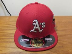 NEW ERA 59Fifty Oakland A's ATHLETICS All-Star Game Hat Cap Fitted MLB Baseball #Athletics #NewEra #OaklandAs Baseball Gear, New Era 59fifty, Athletics, All Star, Mlb, Nike Men, Stars, Games, Fitness