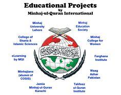 Educational Projects by Minhaj-ul-Quran International