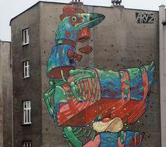 Aryz, Finland + Poland - unurth | street art