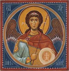 Михаил архангел, фреска