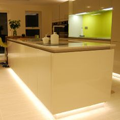 33 Best Kitchen Worktop And Plinth Lighting Images On Pinterest