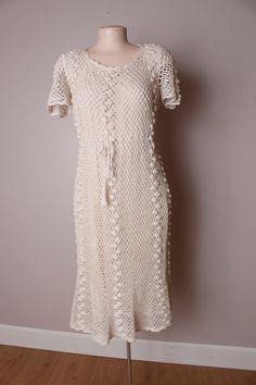 1930's crochet dress