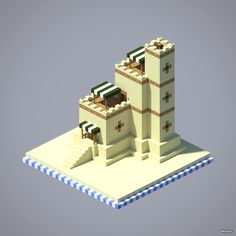 Fortified House Desert Style