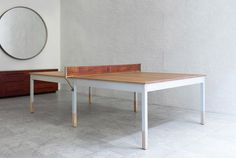 World's Most Beautiful Ping-Pong Table