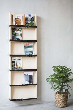 Reader 3 magazine shelf. Design Pontus Ny for Möbelverket.