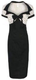 Lindy Bop polka dott wiggle dress   Jurken   Miss Vintage   Retro, vintage geïnspireerde dames kleding