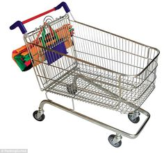 Trolley Bags fit inside supermarket trolleys could mean the end of plastic bags | Daily Mail Online