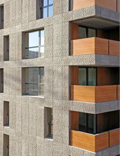 cdm associated architects, Edward Hood, Joseph Donato, Thomas Macchi Cassia - Social Housing CasaNova