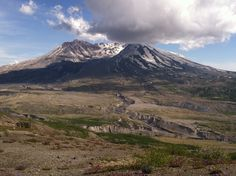 Mt. St. Helens ....Johnson ridge observatory. Castle rock , Wa.
