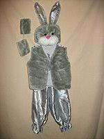 """Детский карнавальный костюм """"Серый Заяц"""" для детей от 3-х до 7-ми лет"""