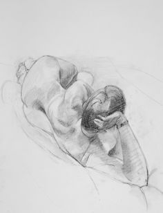 Reclining Nude - by Sam Dalby