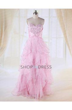 pink prom dress #pink #prom #dress