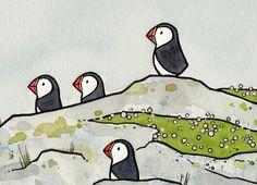 Red Parka Diaries: Illustration Crush - David Scheirer