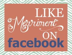 Hey, Pinterest followers! Go to Merriment Style and click Like on Facebook. (http://www.facebook.com/pages/Merriment-A-celebration-of-style-substance/203548336323757)