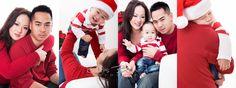 Chris Bernard   Edmonton Family Photographer  Asian family Christmas portrait