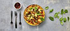 Uunipasta | Pääruoat | Reseptit – K-Ruoka Mozzarella, Vegetable Pizza, Norman, Quiche, Good Food, Pasta, Healthy Recipes, Dinner, Breakfast