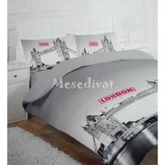 London mintás ágynemű London, Bed Pillows, Pillow Cases, Room, Furniture, Home Decor, Pillows, Bedroom, Decoration Home