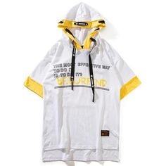 Short Sleeve Hoodie, Cyberpunk Fashion, Boys Wear, Top Pattern, Hoodie Jacket, Everyday Outfits, Custom Clothes, Mens Tees, Street Wear