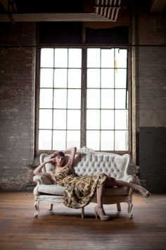 Fehn - Claire Dam Photography #vintage #dress #industrial #warehouse #romantic #fashion #style