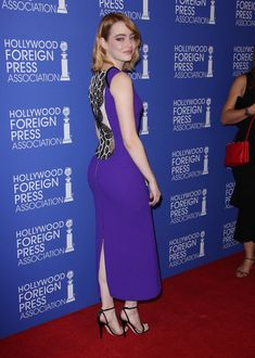 Emma Stone - Hollywood Foreign Press Association's Grants Banquet (MIC) For more visit: www.charmingdamsels.tk