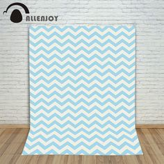 Photography background cute white blue striped twill princess boy photo studio Allenjoy backdrops