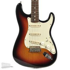 Fender Custom Shop '60 Stratocaster Reissue Sunburst 1996