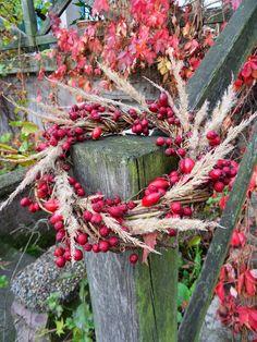 Autumn wreath on Dom Odnaleziony: www.domodnaleziony.blogspot.com